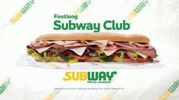Subway Footlong Club TV Spot, 'Discoteca' [Spanish]