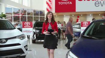 Toyota National Clearance Event TV Spot, '2017 Tundra'
