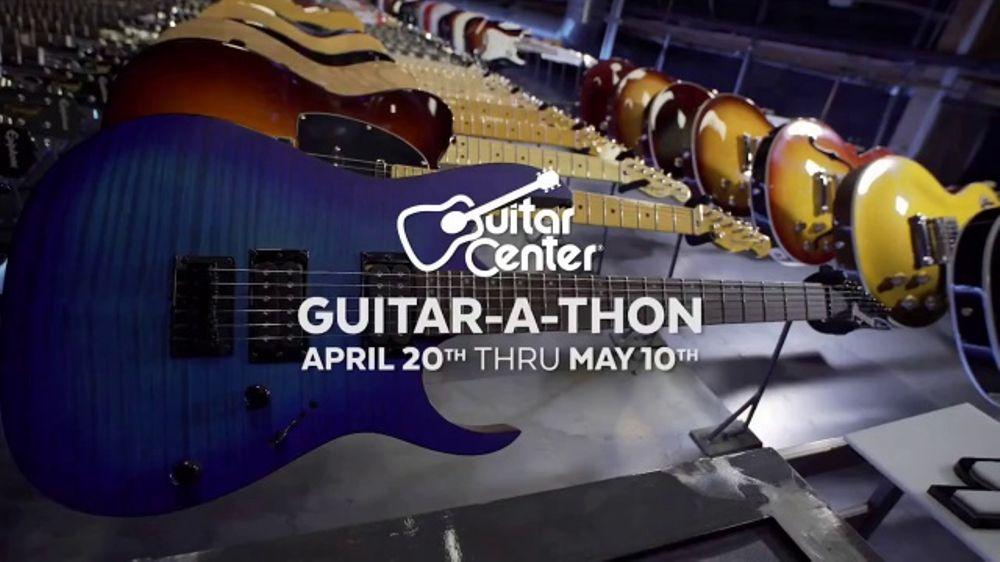 guitar center guitar a thon tv commercial 39 esp and ibanez electric guitars 39. Black Bedroom Furniture Sets. Home Design Ideas