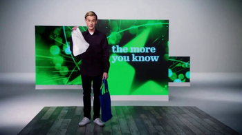The More You Know TV Spot, 'Environment: Plastic Bags' Feat. Tyler Henry