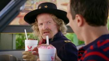 Sonic Drive-In Custard Concretes TV Spot, 'George Custer'