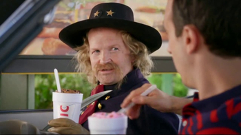 Sonic Drive-In Custard Concretes TV Spot, 'George Custer'