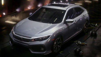2017 Honda Civic Hatchback TV Spot, 'Made Mean'
