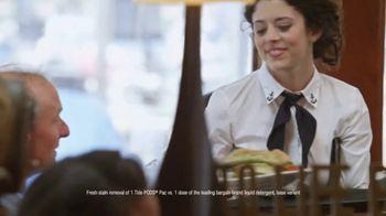 Tide Pods TV Spot, 'Waitress' - Thumbnail 5