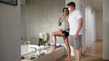 Barbasol + Pure Silk TV Spot, 'Competition' Featuring Gerina Piller