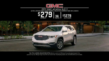 2017 GMC Acadia SLE-1 TV Spot, 'Maestro: Confidence' Song by The Who