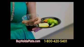 Hold-a-Plate TV Spot, 'Extra Hand'