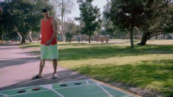Oberto Beef Jerky TV Spot, 'Gronk's Playing Shuffleboard Again'