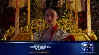 DIRECTV Cinema TV Spot, 'Enter the Warriors Gate'