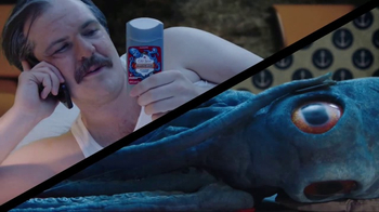 Old Spice Krakengard TV Spot, 'Adult Swim: Squid Cop'