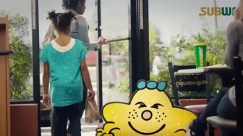 Subway Fresh Fit for Kids Meal TV Spot, 'Mr. Men and Little Miss' - Thumbnail 9