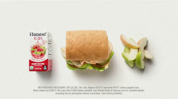 Subway Fresh Fit for Kids Meal TV Spot, 'Mr. Men and Little Miss' - Thumbnail 4
