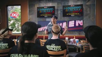 Dairy Queen Guardians Awesome Mix Blizzard TV Spot, 'Teamwork'