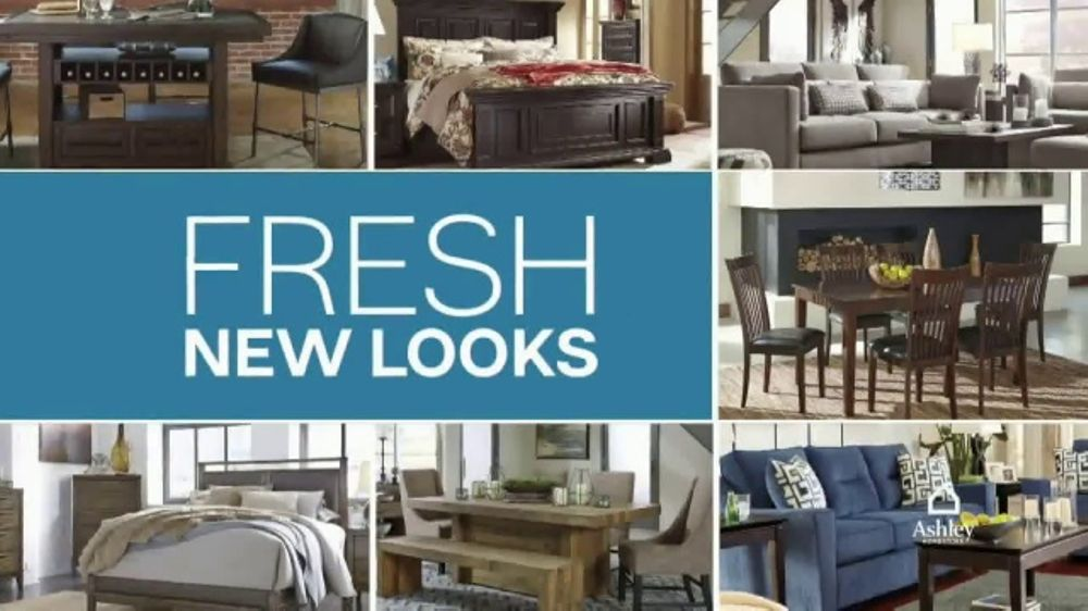 ashley furniture homestore tv commercial 39 new now wow upholstered