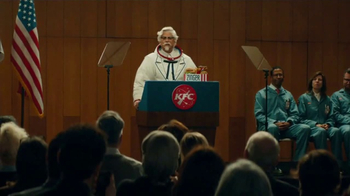 KFC Zinger Sandwich TV Spot, 'Announcement' Featuring Rob Lowe