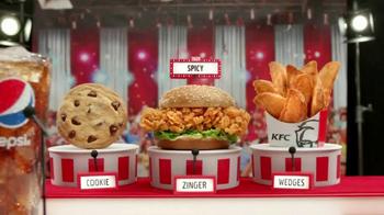KFC $5 Fill Ups: Zinger TV Spot, 'Winner'