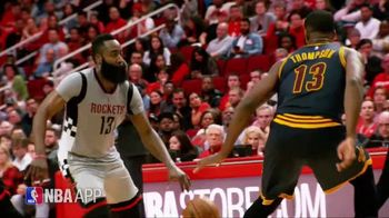 NBA App TV Spot, 'Just One Play: Determined Force' Featuring James Harden - 35 commercial airings