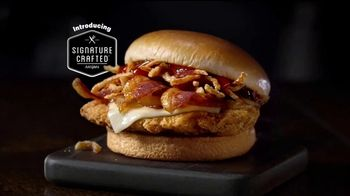 McDonald's Signature Crafted Recipes TV Spot, 'Barbecue Bacon Sandwich'
