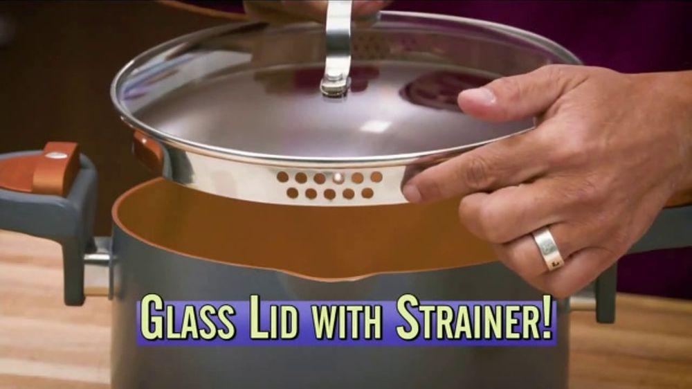 Gotham Steel Pasta Pot Tv Commercial Perfect Straining