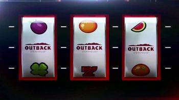 Outback Steakhouse Aussie 4 Course Meal TV Spot, 'Slot Machine'