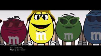 M&M's TV Spot, 'Bite-Size Beat by Nick L, Denver, CO'