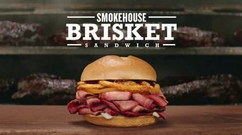 Arby's Smokehouse Brisket Sandwich TV Spot, 'Low and Slow'