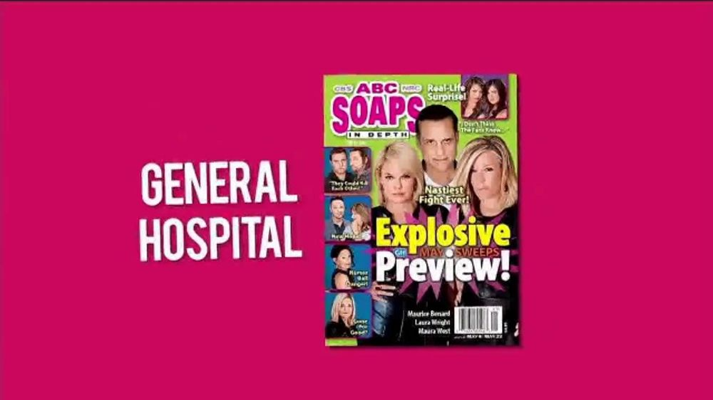 ABC Soaps In Depth Magazine - September 16, 2013 - Kirsten Storms Brandon Barash