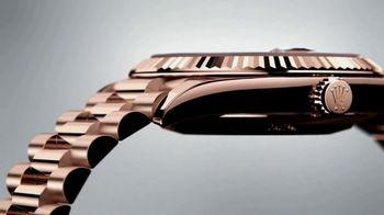 Rolex Day-Date 40 TV Spot, 'Everose Gold'