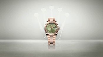 Rolex Day-Date 40 TV Spot, 'Everose Gold'