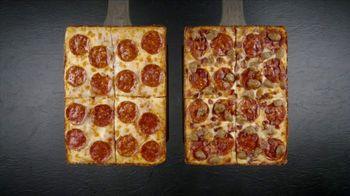 Little Caesars Half-N-Half DEEP!DEEP! Dish Pizza TV Spot, 'Because We Can'