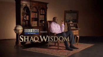 Gold Bond Body Powder Spray TV Spot, 'Shaq Wisdom' Ft. Shaquille O'Neal