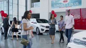Kia Summer's On Us Sales Event TV Spot, 'Jet Ski' - Thumbnail 1