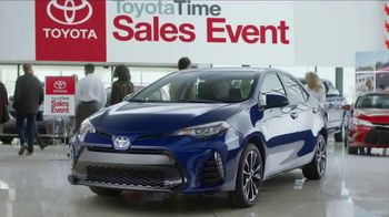 Toyota Time Sales Event TV Spot, '2017 Corolla'