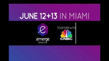 2017 Emerge Americas TV Spot, 'CNBC: Cutting Edge'