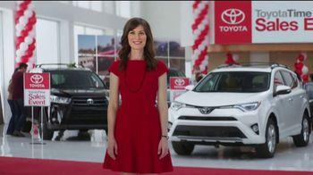Toyota Time Sales Event TV Spot, '2017 RAV4'
