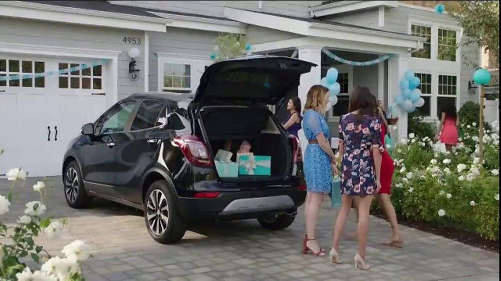 Buick Commercial With Birthday Cake
