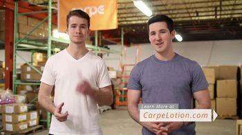 Carpe Antiperspirant Hand and Foot Lotion TV Spot, 'Real Carpe User: Joe'