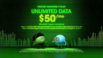 Cricket Wireless Unlimited 2 Plan TV Spot, 'Dance'