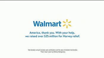 Walmart TV Spot, 'Harvey Relief: That's Texas' - Thumbnail 6