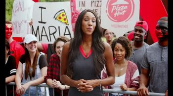 Pizza Hut Rewards TV Spot, 'ESPN: More Free Pizza' Featuring Maria Taylor