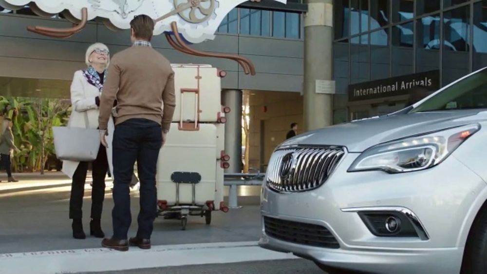 2017 Buick Envision TV Commercial, 'Foot-Activated ...
