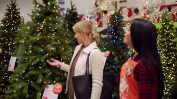 the home depot black friday savings tv commercial artificial christmas trees ispottv