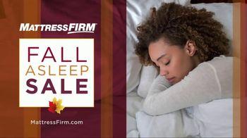Mattress Firm Fall Asleep Sale TV Spot, 'It's BOGO 50 Percent Off'