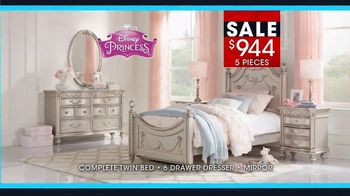 Rooms to Go January Clearance Sale TV Commercial, \'Disney Princess ...