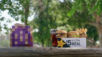 Carl's Jr. $5 All Star Meal TV Spot, 'Dollar Menu Bingo'