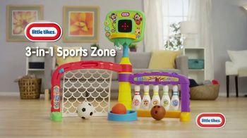 Little Tikes Light 'n Go 3-in-1 Sports Zone TV Spot, 'Inspired Play'