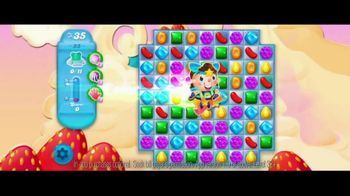 Candy Crush Saga TV Spot, 'Fly Through the Levels' Song by Björk