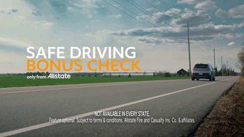 Allstate Safe Driving Bonus Checks TV Spot, 'All Alone' - Thumbnail 8