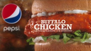 Arby's Buffalo Chicken Sandwich TV Spot, 'Sports Bar'