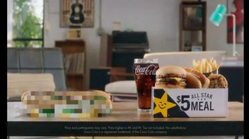 Carl's Jr. $5 All Star Meal TV Spot, 'Guillotine'